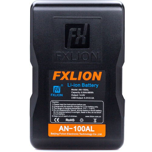 Fxlion Cool Blue Series AN-100AL 14.8V Lithium-Ion Gold Mount Battery (98Wh)