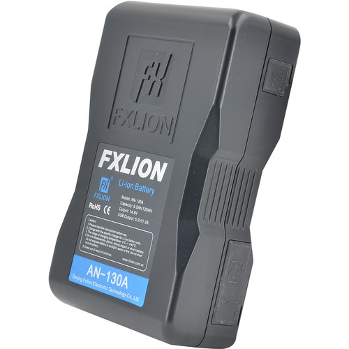 Fxlion Cool Black Series 14.8V Lithium-Ion Battery (130Wh, Gold Mount)