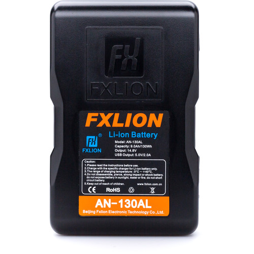 Fxlion Cool Blue Series AN-130AL 14.8V Lithium-Ion Gold Mount Battery (130Wh)