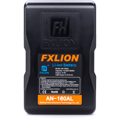 Fxlion Cool Blue Series AN-160AL 14.8V Lithium-Ion Gold Mount Battery (160Wh)