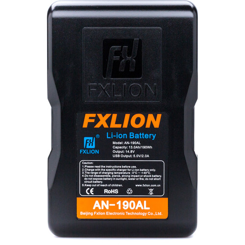 Fxlion Cool Blue Series AN-190AL 14.8V Lithium-Ion Gold Mount Battery (190Wh)