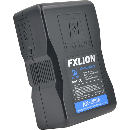 Fxlion Cool Black Series AN-250A 14.8V Lithium-Ion Gold Mount Battery (250Wh)
