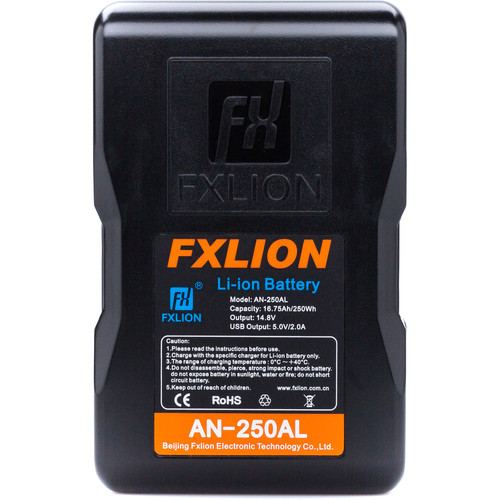 Fxlion Cool Blue Series AN-250AL 14.8V Lithium-Ion Gold Mount Battery (250Wh)