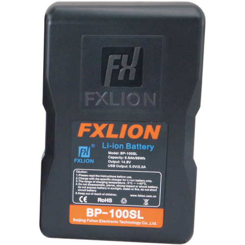 Fxlion Cool Blue Series BP-100SL 14.8V Lithium-Ion V-Mount Battery (98Wh)