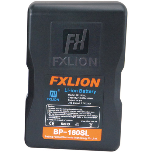 Fxlion Cool Blue Series BP-160SL 14.8V Lithium-Ion V-Mount Battery (160Wh)