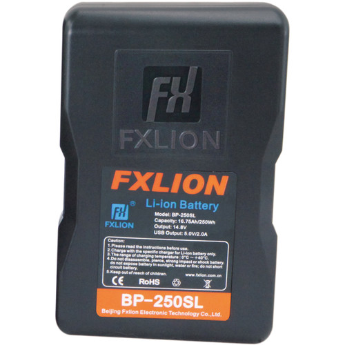 Fxlion Cool Blue Series BP-250SL 14.8V Lithium-Ion V-Mount Battery (250Wh)