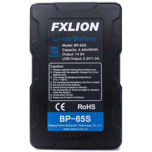 Fxlion Cool Black Series BP-65S 65Wh 14.8V Battery (V-Mount)