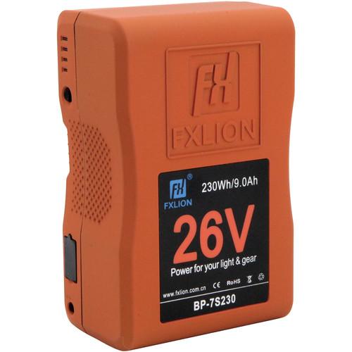 Fxlion BP-7S230 26V Lithium-Ion V-Mount Battery for LED Light and Cine Camera (230Wh)
