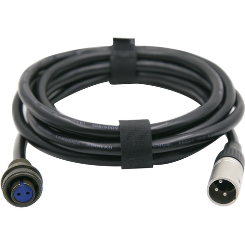 Fxlion 48V Skypower 3-Pin male to Amphenol connector DC Cable for Zylight IS3 LED Light