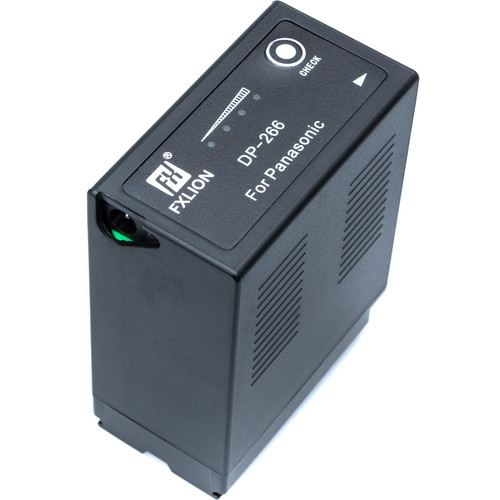 Fxlion DP-266 Lithium-Ion Battery for Panasonic D54 Battery (7.4V, 48Wh)
