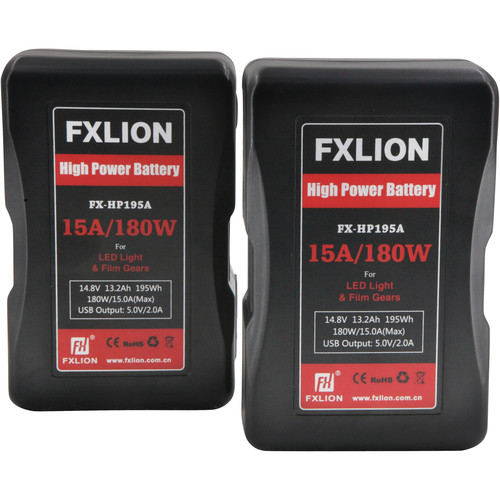 Fxlion FX-HP220A 14.8V Lithium-Ion Gold Mount Battery (15Ah, 220Wh)