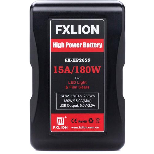Fxlion FX-HP265S 14.8V Lithium-Ion V-Mount Battery (18Ah, 265Wh)