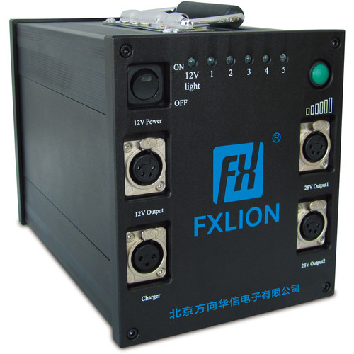 Fxlion FX-HP-7224 28V Multifunctional High-Power Lithium-Ion Battery (620Wh)
