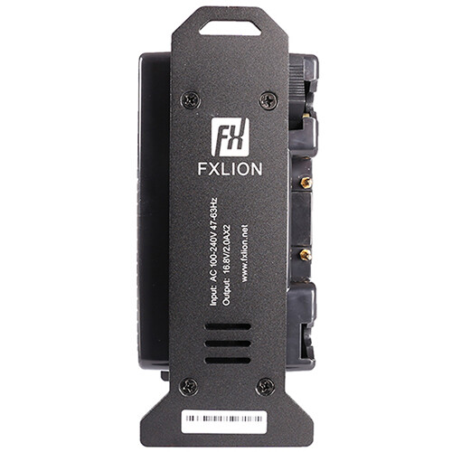 Fxlion Mini 2-Channel Gold-Mount Battery Charger