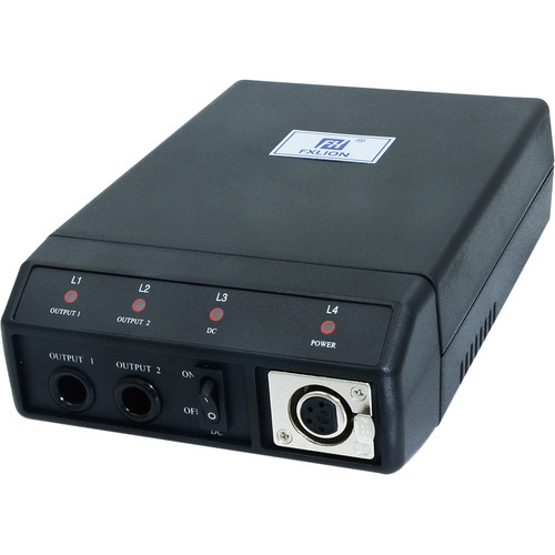 Fxlion PL-3680E Dual-Channel Li-Ion Charger for NP/AN/BP Batteries with DC Output for HD Video Camera