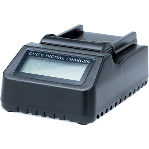 Fxlion Mono-Channel DV Li-Ion Battery Charger with LCD Screen for Canon BP-975 & Fxlion DC-C78