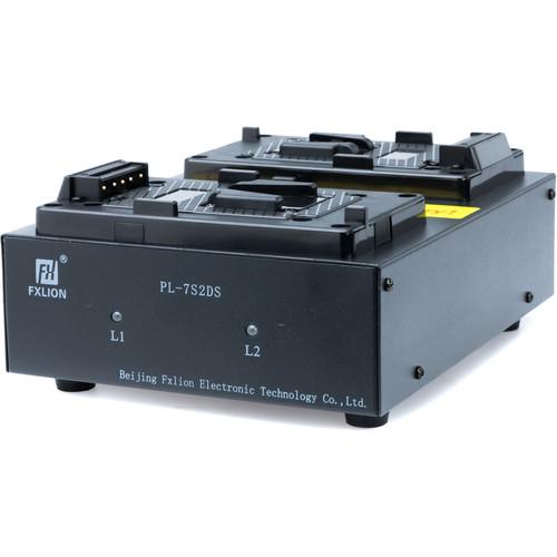 Fxlion PL-7S2DS Dual V-Mount Battery Charger