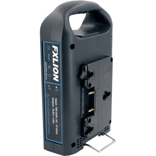 Fxlion Dual-Channel Gold-Mount Fast Battery Charger