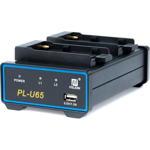 Fxlion Dual-Channel Deck Li-Ion Charger for Sony BP-U Batteries