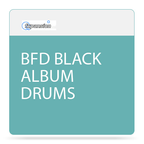 FXpansion BFD Black Album Drums Expansion Pack for BFD3 (Download)