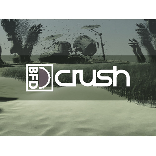 FXpansion BFD Crush - Expansion Pack for BFD3, BFD2, and BFD Eco (Software, Download)