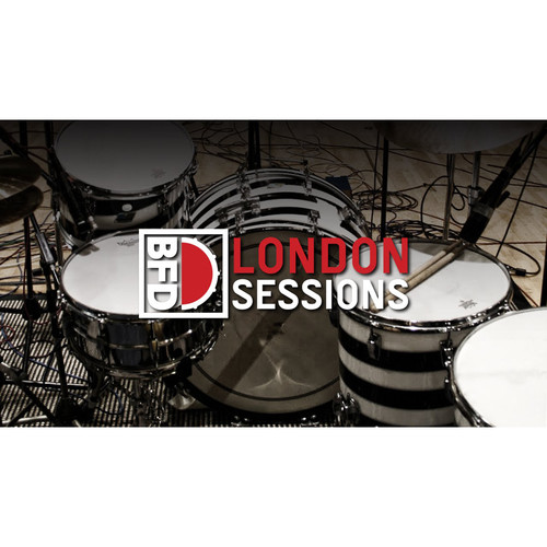 FXpansion BFD London Sessions - Expansion Pack for BFD3 and BFD Eco (Download)