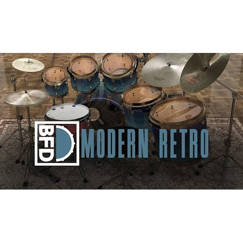 FXpansion BFD Modern Retro - Expansion Pack for BFD3, BFD Eco, BFD2 (Download)