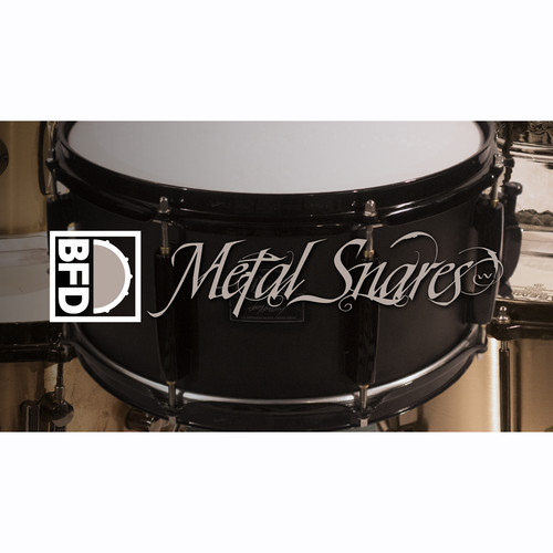 FXpansion BFD Metal Snares - Expansion Pack for BFD3 (Download)