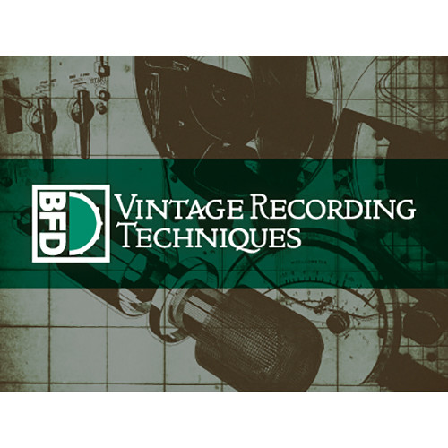 FXpansion BFD Vintage Recording Techniques Expansion Pack for BFD3 (Download)