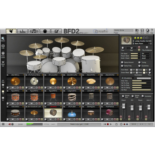FXpansion BFD 8 Bit Kit - Expansion Pack for BFD3, BFD Eco, BFD2 (Download)