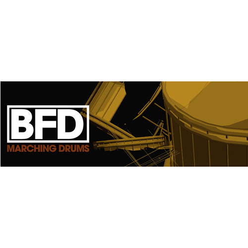 FXpansion BFD Marching Drums - Expansion Pack for BFD3, BFD Eco, BFD2 (Download)