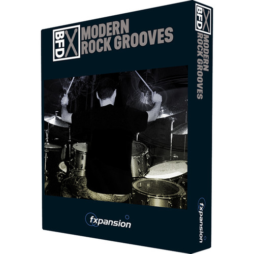 FXpansion Modern Rock Grooves - Drum Groove Pack for BFD3 (Download)
