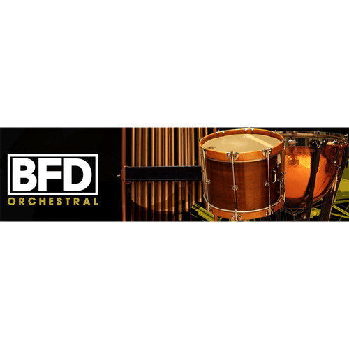 FXpansion BFD Orchestral - Expansion Pack for BFD3, BFD Eco, BFD2 (Download)