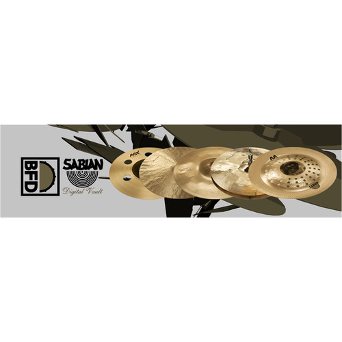 FXpansion BFD Sabian Digital Vault - Expansion Pack for BFD3, BFD Eco, BFD2 (Download)