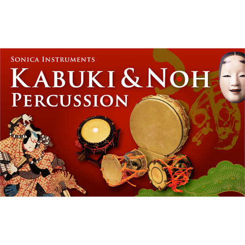 FXpansion Kabuki & Noh Percussion - Expansion Pack for BFD3 and BFD2 (Download)