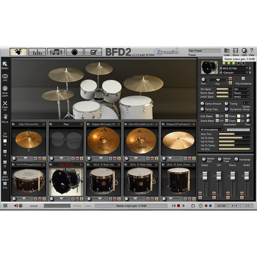 FXpansion BFD Maple Custom Absolute - Expansion Pack for BFD3, BFD Eco, BFD2 (Download)