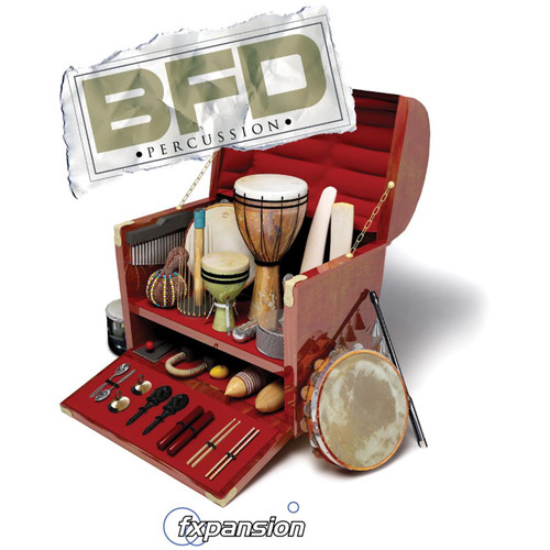 FXpansion BFD Percussion - Expansion Pack for BFD3, BFD Eco, BFD2 (Download)