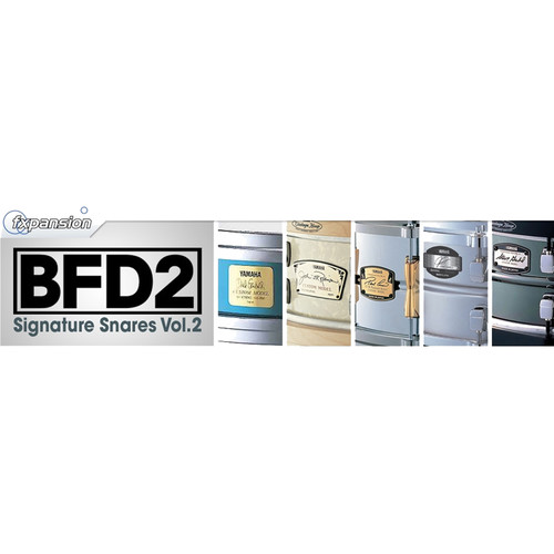FXpansion BFD Signature Snares V.2 - Expansion Pack for BFD3, BFD Eco, BFD2 (Download)