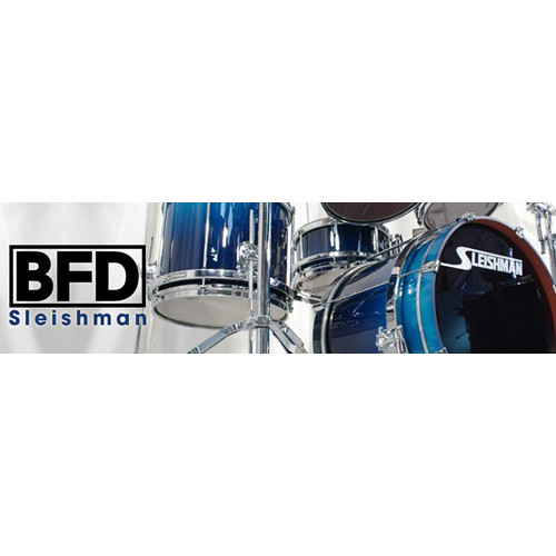 FXpansion BFD Sleishman Drums - Expansion Pack for BFD3, BFD Eco, BFD2 (Download)
