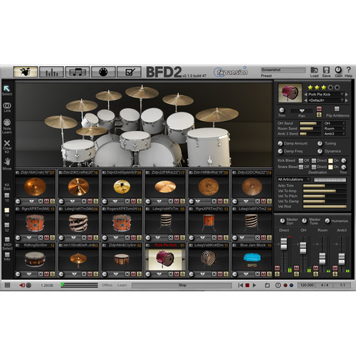 FXpansion BFD Sleishman Snares - Expansion Pack for BFD3, BFD Eco, BFD2 (Download)