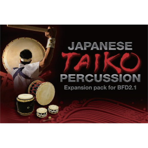 FXpansion Japanese Taiko Percussion - Expansion Pack for BFD3 and BFD2 (Download)
