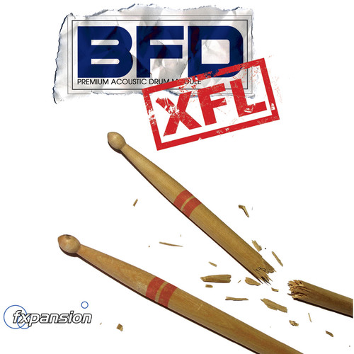 FXpansion BFD XFL - Expansion Pack for BFD3, BFD Eco, BFD2 (Download)
