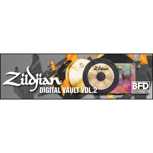 FXpansion Zildjian Digital Vault Vol. 2 - Expansion Pack for BFD3, BFD Eco, BFD2 (Download)