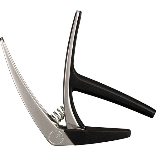 G7th Nashville Spring-Loaded Capo for Steel String Guitar (Silver)