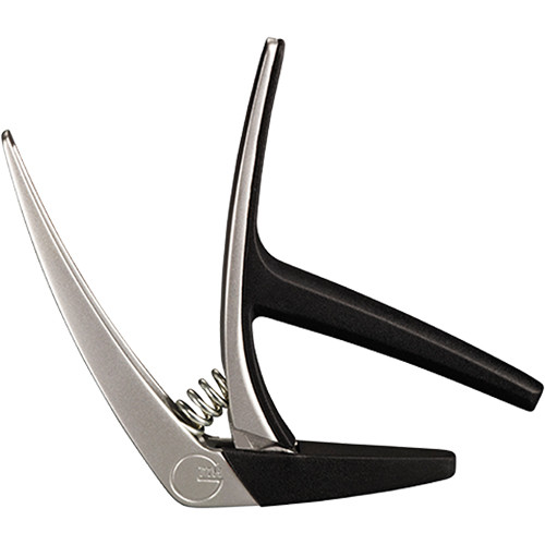 G7th Nashville Spring-Loaded Capo for 6-String Guitar (Silver)
