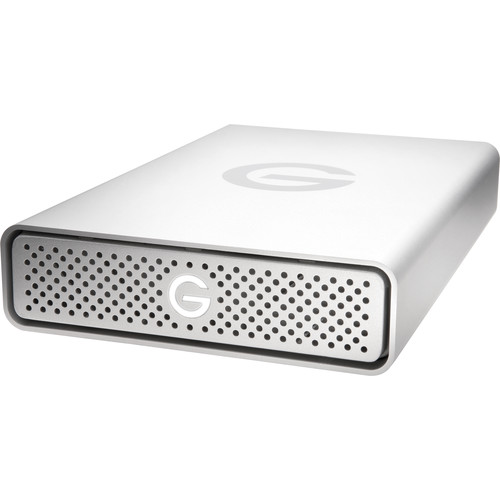 G-Technology 3TB G-DRIVE G1 USB 3.1 Gen 1 Hard Drive with Gobbler Software