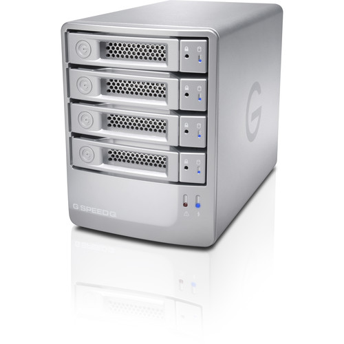 G-Technology G-SPEED Q 24TB (4 x 6TB) 4-Bay RAID Array