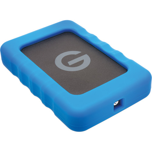 G-Technology 1TB G-DRIVE ev RaW USB 3.1 Gen 1 Hard Drive with Rugged Bumper