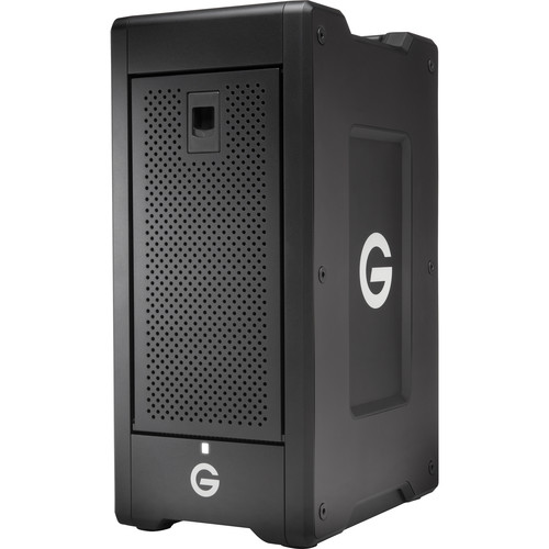 G-Technology G-SPEED Shuttle XL 24TB 8-Bay Thunderbolt 2 RAID Array with Two ev Bay Adapters (6 x 4TB)