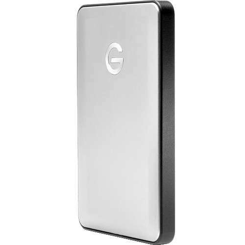 G-Technology 1TB G-DRIVE mobile USB 3.0 Type-C External Hard Drive (Silver)